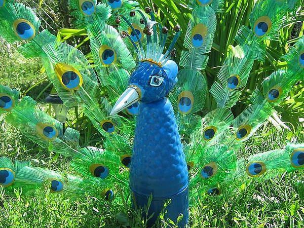 тварини з пластикових пляшок, фото з сайту masterclassy.ru