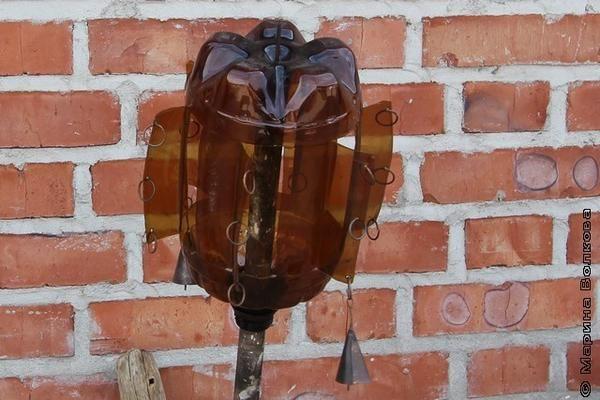 флюгер з пластикової пляшки, фото з сайту mv74.ru