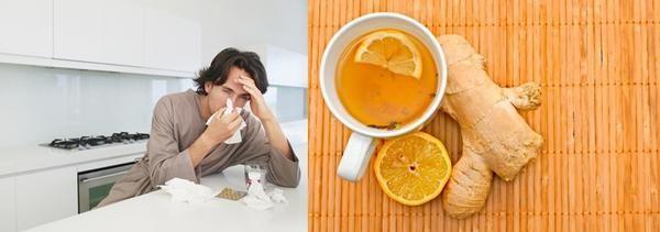 Імбир від застуди