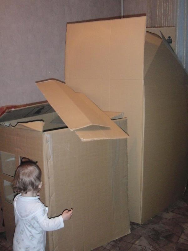 А ми за один день цілий будинок збудували! Що нам стоит дом построить змайструємо і будемо жити!