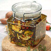 Баклажани в оливковій олії