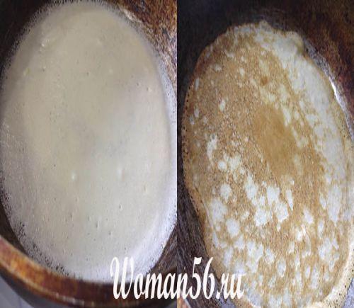 приготування млинців