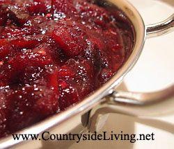 Червоний ягідний соус до м`яса і індичці