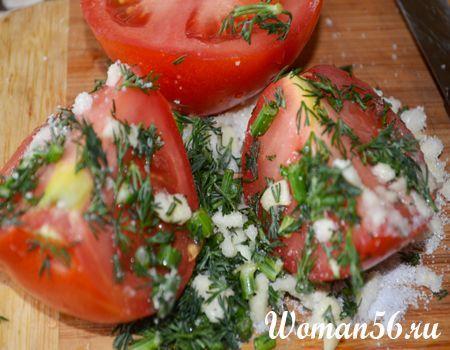 помідори сіль цукор