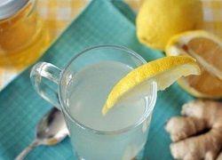 Чай з імбиром, лимоном і натуральним медом для схуднення