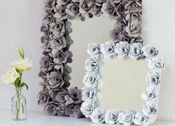 Квітковий декор дзеркала та інші ідеї