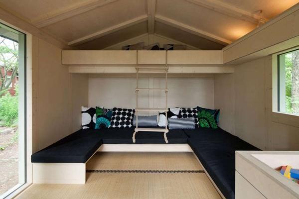 Спальня на п`ятьох людей. малогабаритна спальня
