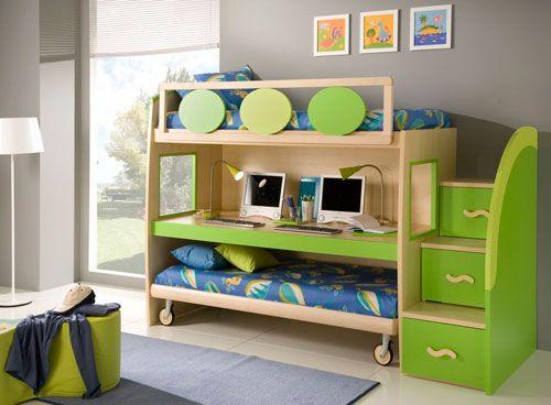 Багатофункціональна меблі в дитячій кімнаті в вітальні