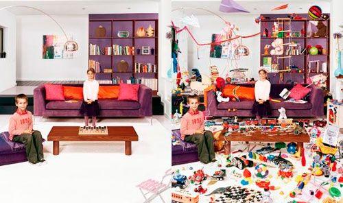 Дитяча в вітальні: як не перетворити кімнату в склад іграшок