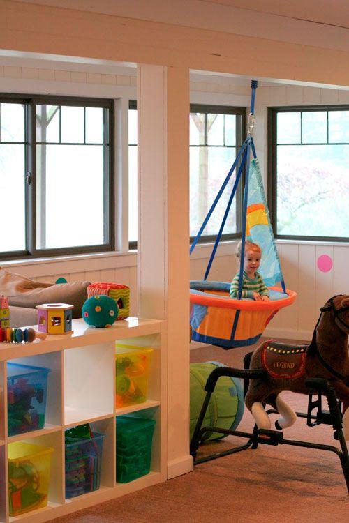 Дизайн дитячої кімнати в вітальні