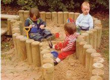 Дитяча пісочниця своїми руками