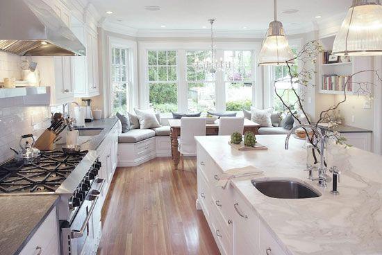 Дизайн кухні з еркером