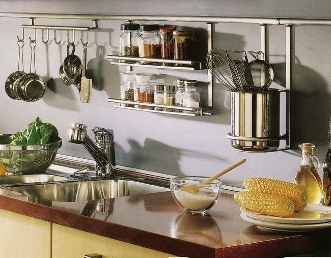 Рейлінги на кухні