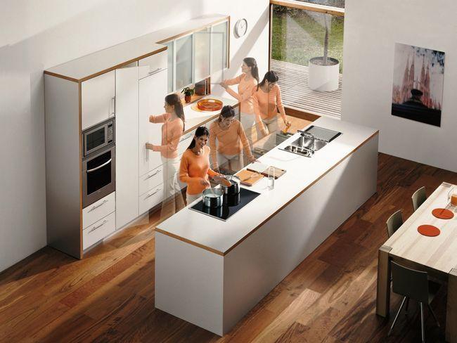 Планування меблів і техніки на кухні