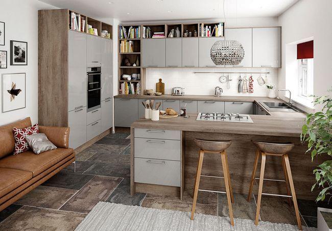 Об`єднання кухні і вітальні
