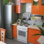 Яскрава маленька кухня