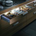 Світлодіодна стрічка на кухні