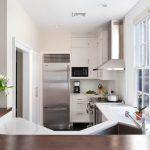 Використання зони кухні для підвіконня