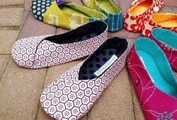 Домашні тапочки своїми руками з соняшниками з фетру