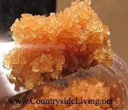 Домашній цукровий скраб з коричневого цукру