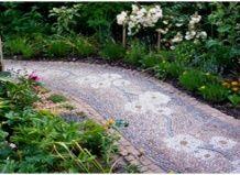 Доріжки: мозаїка в сад