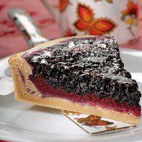 Фінський чорничний пиріг