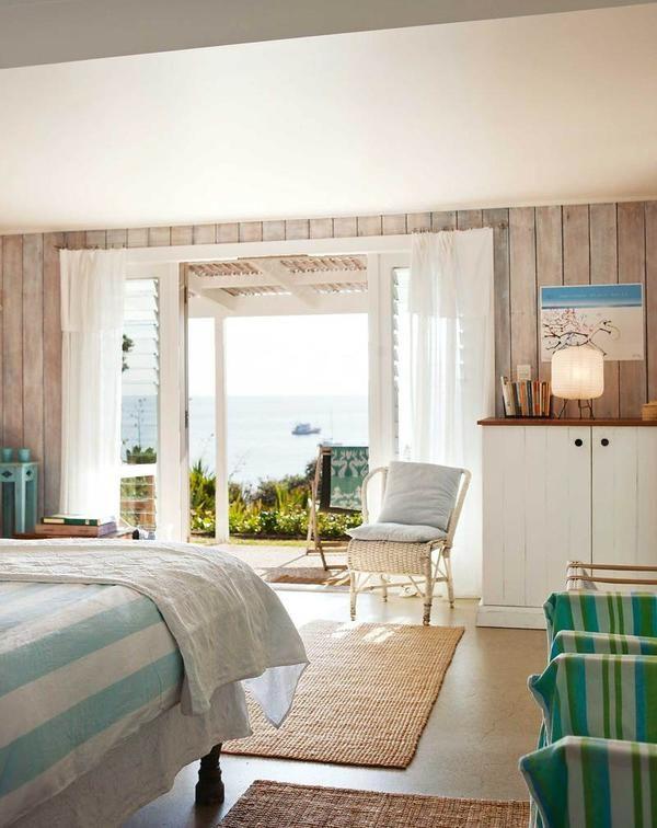 Спальня в пастельних тонах в Новій Зеландії