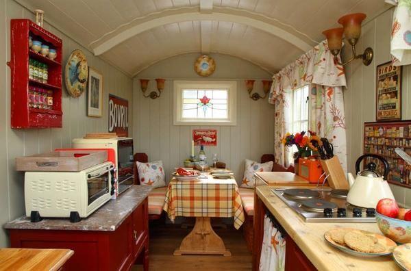 Ідеї   декору для крихітної кухні