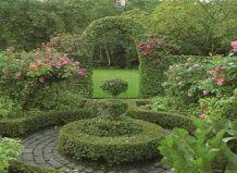 Ідеї   для саду своїми руками: лабіринт