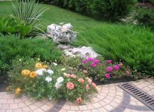 Використання каменю в оформленні садової ділянки