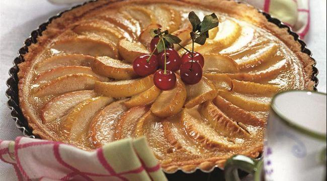 Яблучно-карамельний пиріг