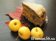 Яблучний торт - рецепт приготування