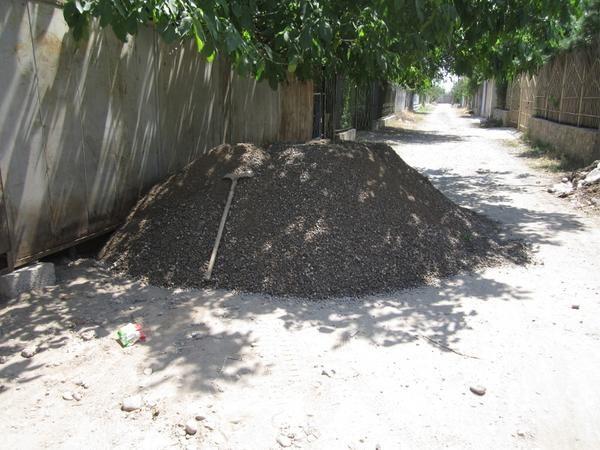 Як ми заливали фундамент паркану