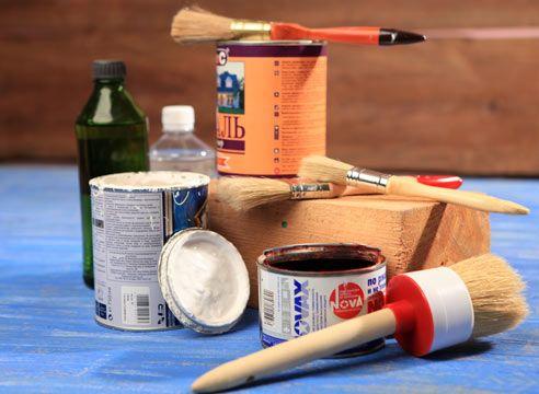 Як очистити малярську кисть від фарби