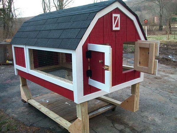 Клітка-будиночок для кроликів