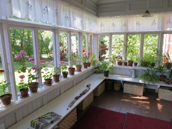 Веранда як домашній сад