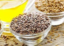 Очищення організму травами і насінням льону від шлаків