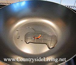 Сковорода вок для швидкого приготування китайських і тайських страв stir-fry