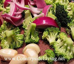 Брокколі з куркою в воке по-китайськи (Стир Фрай). Рецепт. підготовлені продукти