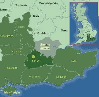 Клімат і погода. Графство surrey (суррей), південний схід англії