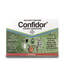 Конфідор бореться зі шкідниками