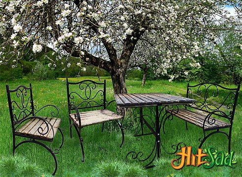 ковані предмети для дому та саду