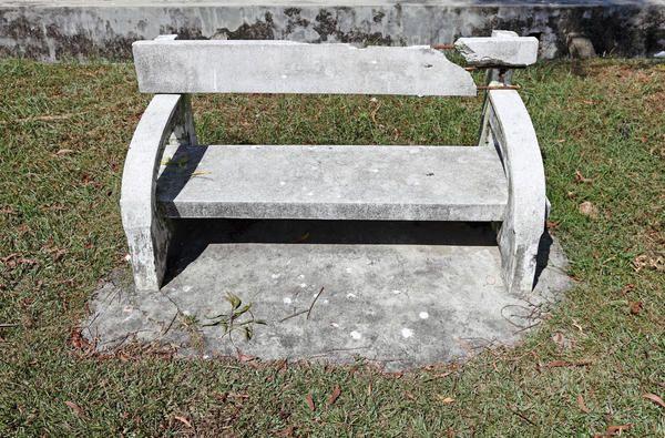 З неякісних матеріалів навіть бетонна лавочка довго не простоїть