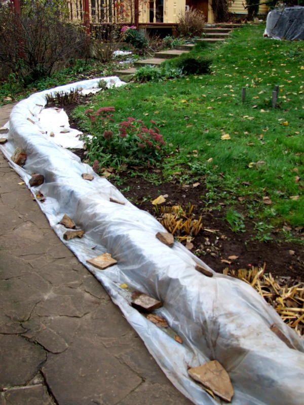 Укрийте красиву кладку на зиму, і тоді не доведеться її ремонтувати.