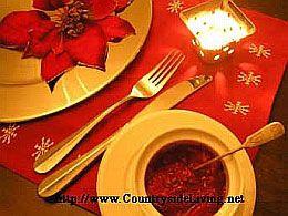 Різдвяний і новорічний стіл