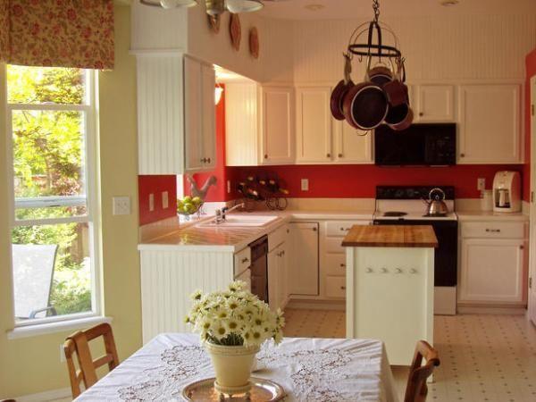 Дизайн кухні в стилі котедж