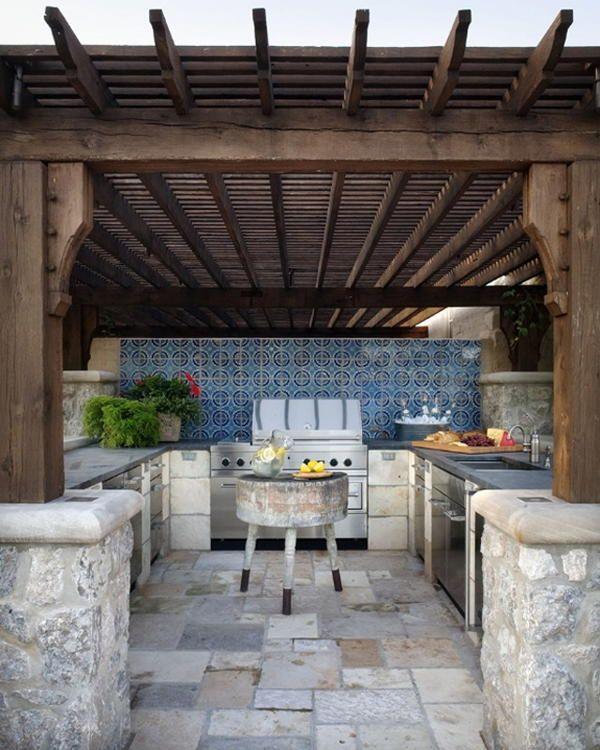 Кухня на свіжому повітрі