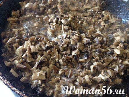 начинка з грибів