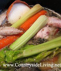 Курячий суп. Як зварити міцний і смачний Куринов бульйон
