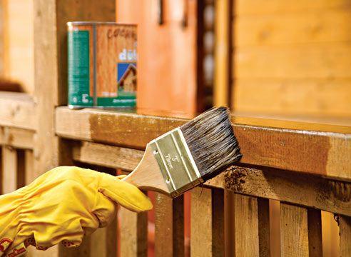 Захисні засоби для дерев`яних будівель